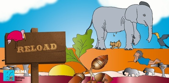 Get to know Kalima and Tempo. Click on the elephant, click on Kalima and others and have fun with interactive learning!