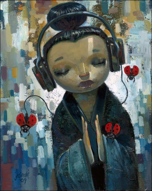 She Had Her Sources by Aaron Jasinski  Fine Art Prints from $48  Available at Eyes On Walls  http://www.eyesonwalls.com/collections/fine-art-prints-by-aaron-jasinski/products/she-had-her-sources#  #art #gifts