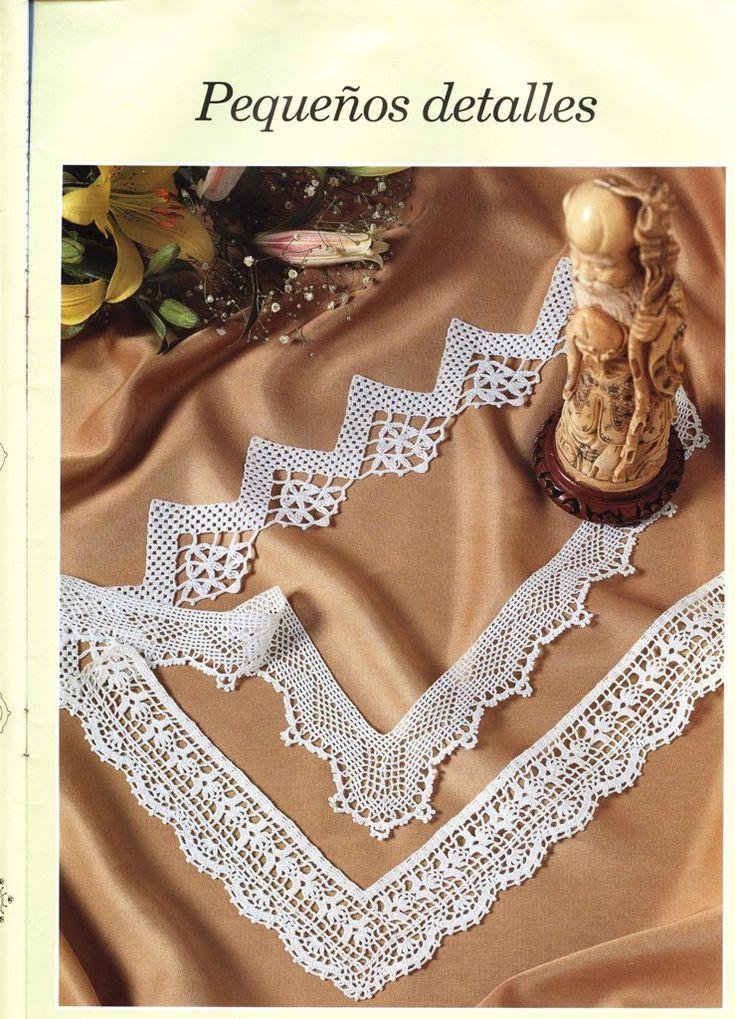152 best TEJER images on Pinterest Weaving, Crochet edgings and - gardinen für küche