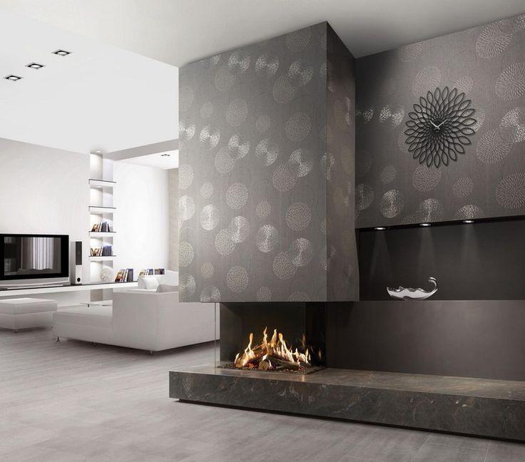 Top 25+ Best Tapete Grau Ideas On Pinterest Tapeten Wohnzimmer Modern Grau