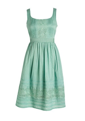 sooo darling: Summer Dresses, Spring Dresses, Mint Green, Style, Bridesmaid Dresses, Colors, Vintage Eyelet, Delias S, Eyelet Dresses