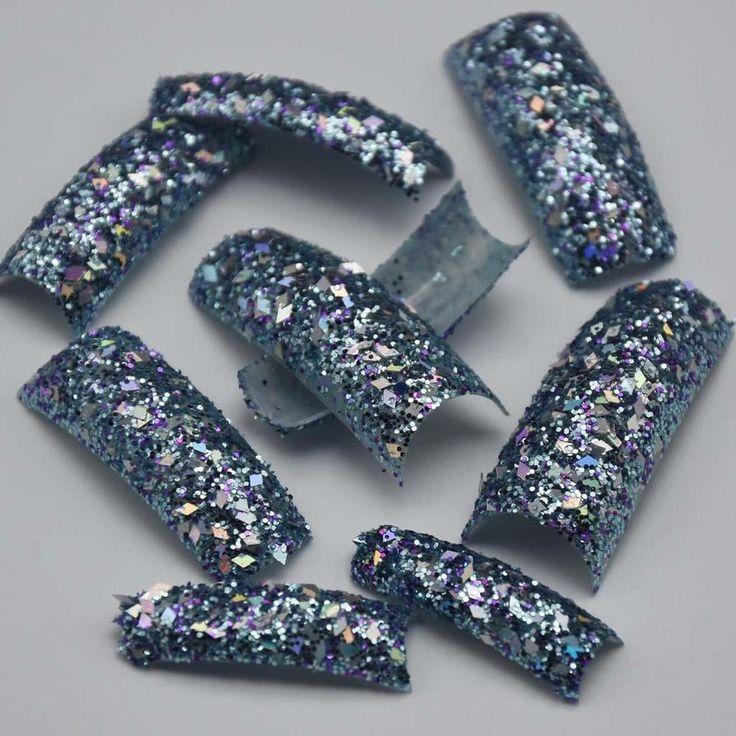 Beauty GLITTER Twinkle Slice Light Purple Plastic False French Acrylic Nail Tips | Health & Beauty, Nail Care, Manicure & Pedicure, Other Nail Care | eBay!