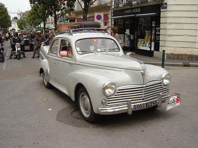 peugeot 203 le 27 me tour de bretagne des vieilles voitures vintage cars old timers. Black Bedroom Furniture Sets. Home Design Ideas