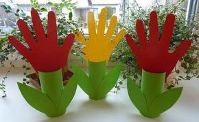Tulipánok - Tavaszi tevékenységek gyerekeknek