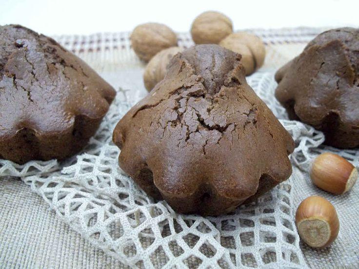 Домашние шоколадные кексы.