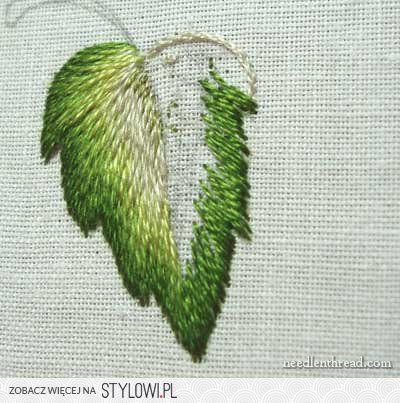 Long and Short Stitch Shading Lesson 7: More Complex Le… na Stylowi.pl
