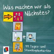 http://www.verlagruhr.de/grundschule/was-machen-wir-als-naechstes.html: Was machen wir als Nächstes, 99 Tages- und Stundenplankarten, Stundenplan, Karten zur Visualisierung der Struktur / des Unterrichts, Abläufe im Klassenzimmer / Klassenraum, Organisation