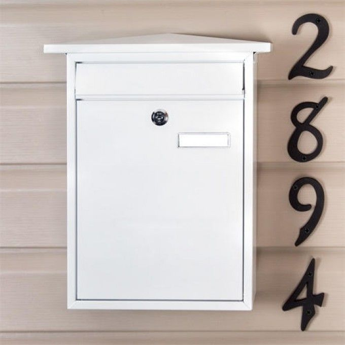 Residencia Aluminum Locking Wall-Mount Mailbox