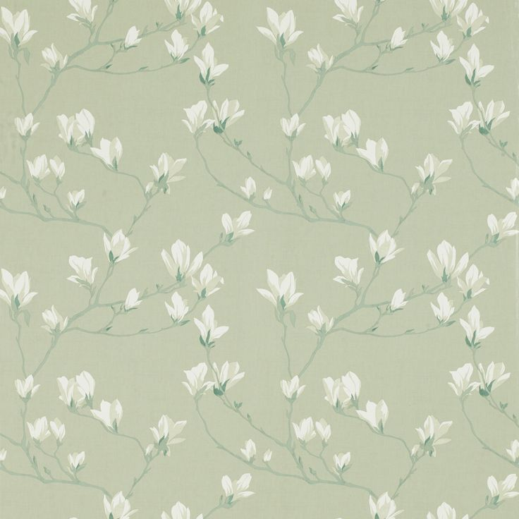 Choose fresh, quintessentially English country style with our beautiful Magnolia Grove blossom print wallpaper in hedgerow. This matt finish paper is perfect for feature walls or making a statement with an entire room. Suitable for all interiors, includin