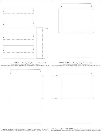 The 25+ best Envelope template printable ideas on Pinterest - letter envelope template