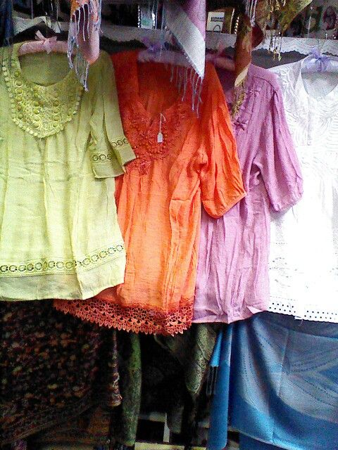 Colorful tops for summer