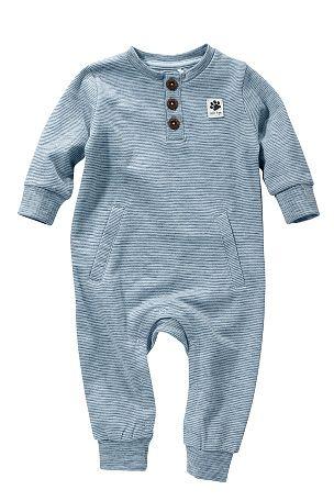 Name it baby Sparkdräkt Folke Mellanblå, Ljusblå - Nyfödd - Sparkdräkter | Ellos Mobile