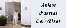 Anjeos o Mallas Mosquiteras para puertas corredizas