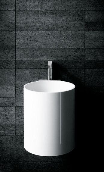 Piero Lissoni for Boffi | PHW Corian® wall-mounted round handrinse basin