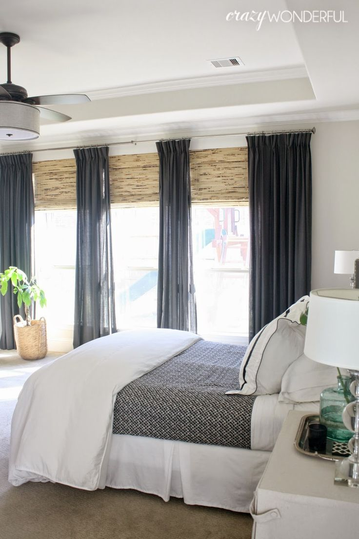 Embrace the wonders of natural light in your bedroom with floor to ceiling windows