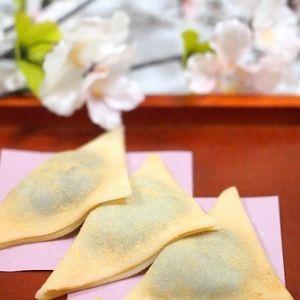 簡単!手作り八つ橋 by ゆずママさん   レシピブログ - 料理ブログのレシピ満載! あの京都の銘菓をおうちでも。レンジを使って簡単に作れちゃいますよ♪