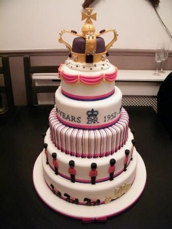 Jubilee Cake By Incredible Cake Supplier Wins Ideal Professional Cake Maker Of The Year 2012