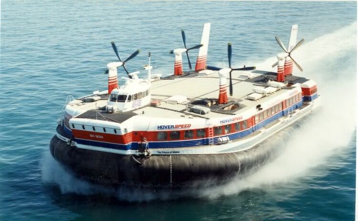 Ferry Fantastic: S. R. N. 4 'Mountbatten Class' Hovercraft