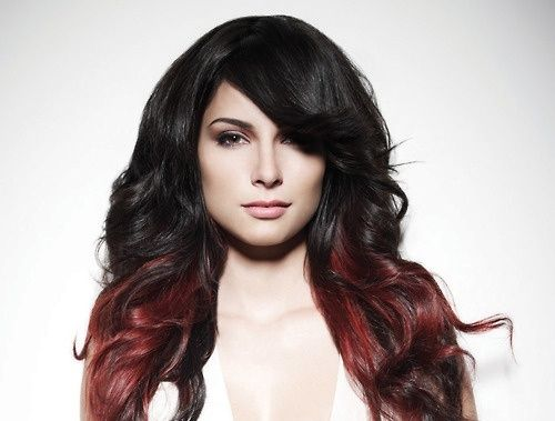 Red And Black Hair Dye Styles: 1000+ Ideas About Red Hombre Hair On Pinterest