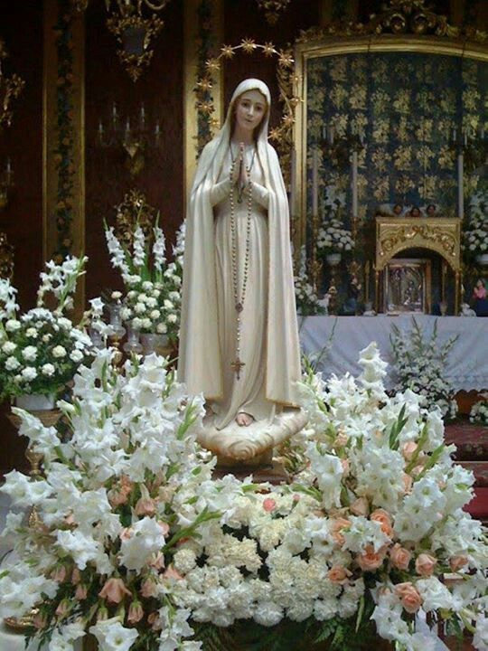 17 Best Images About Mary 39 S Flowers Gardens On Pinterest Gardens Statue Of And Blessed