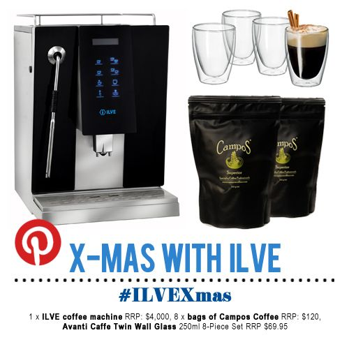 For full terms and conditions head to the Live with ILVE blog - http://www.livewithilve.com/xmas-with-ilve-pinterest-comp/  #ILVEXmas