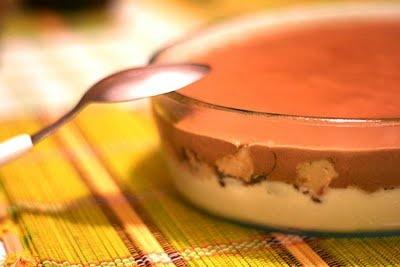 Torta gelada de Sonho de Valsa