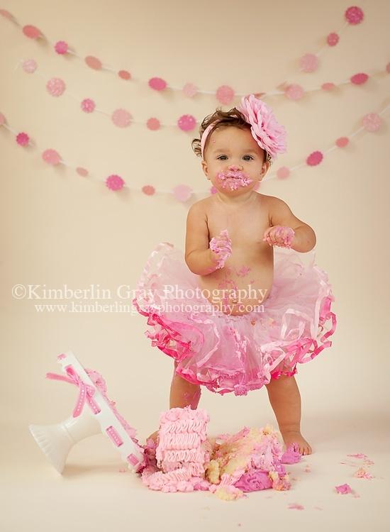 love pink cake smashes