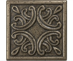 Lowes Bronze Metal Square Accent Tile 4x4 Remodel