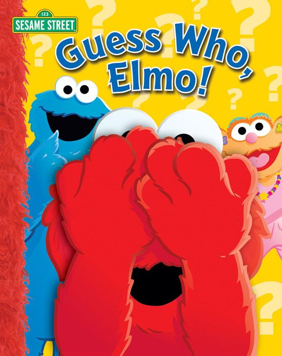 Sesame Street Guess Who Elmo Book by Simon and Shuster | eBeanstalk