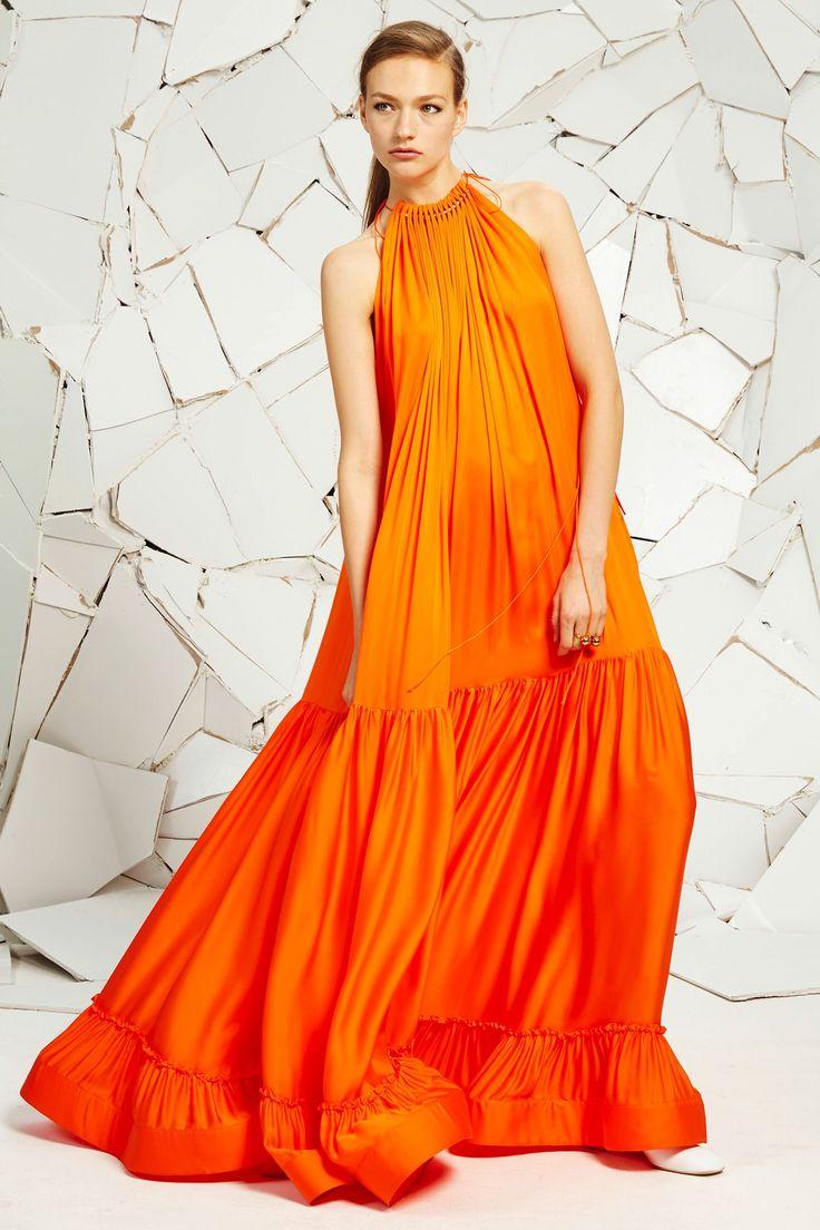 orange + oversized...need // Stella McCartney Resort '16