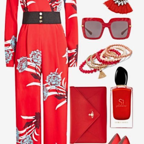 Set the Night Red. Beauty: @giorgioarmani Available|@douglas_cosmetics Accessories: @dolcegabbana @nyandcompany @zaful @chelsea_swankmetalsmithing Jumpsuit: @dvf Bag: @viviennewestwood Available| @harveynichols Shoes: @gianvitorossi #shopthelook #anjigayle #bougiebelle #bougiesavage #lifestyle #2018 #trend #fashion #fashionblogger  #photooftheday #outfit #fall  #fashionable  #accessories #classic #simple #mua #ncbeauty #ncfashion