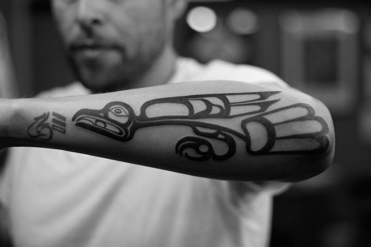 Haida Tattoo Eagle Rhys Gordon Sydney Studiosjpg