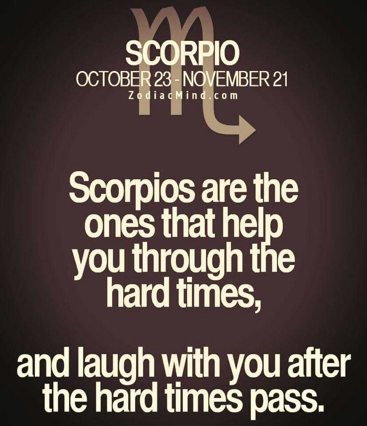 Scorpios unite.