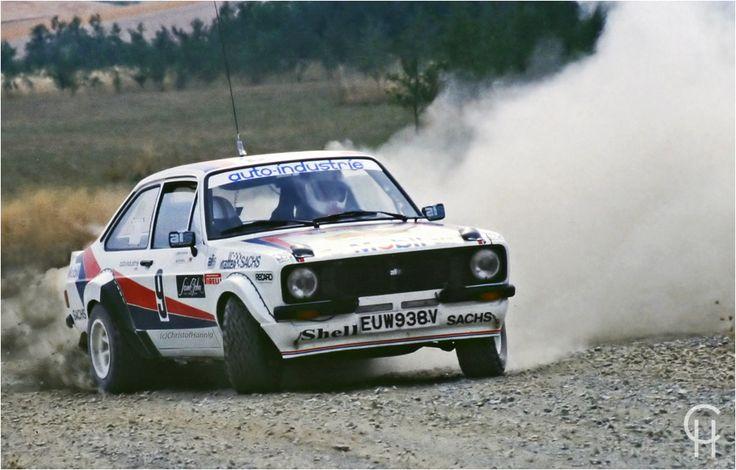 Walter Smolej - Ford Escort BDA - ADAC Deutschland Rallye 1983