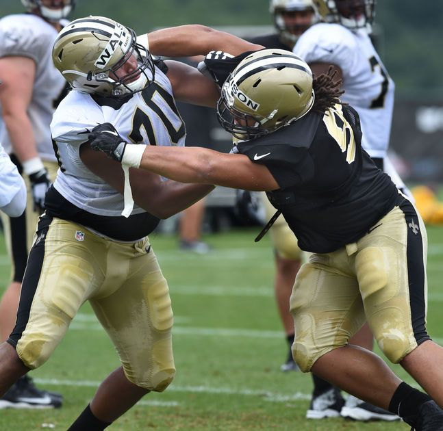 Saints nose tackle Tyeler Davison expects to be back for Chargers game