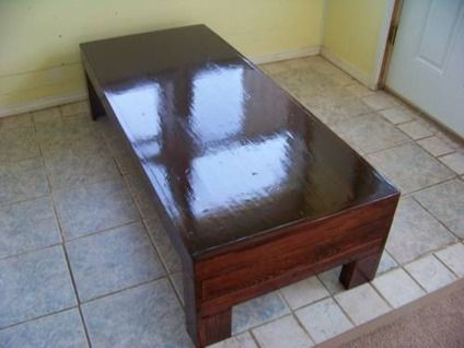 200_handmade_coffee_table_with_dark_red_oak_stain_and_clear_coat ...