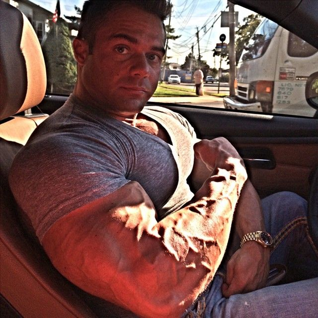 Michael Caso | Biceps | Pinterest | Biceps and Pumping iron