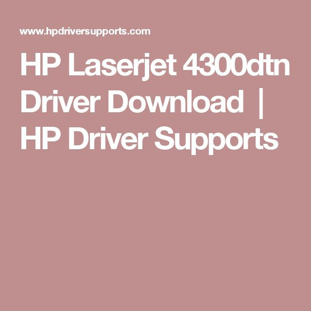 Hp Laserjet P2015dn Driver For Windows 10