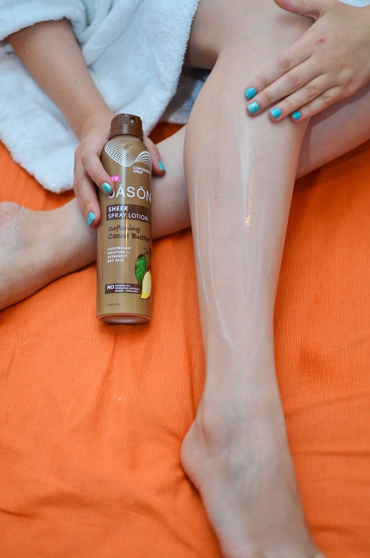 another side of me: Jason Sheer Spray Lotion {review}