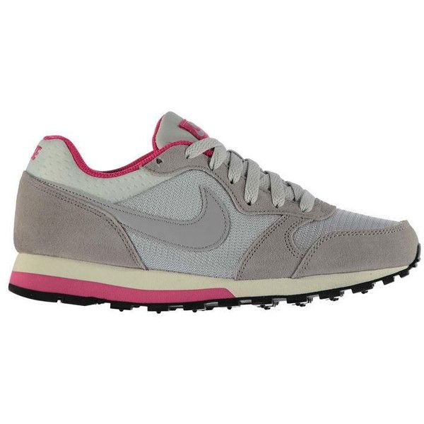 Nike MD Runner Trainer Ladies ❤ liked on Polyvore featuring shoes, sneakers, nike sneakers, nike footwear, nike, nike shoes and nike trainers