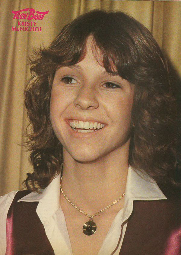 kristy mcnichol | Kristy McNichol featured in Teen Beat Magazine in 1979