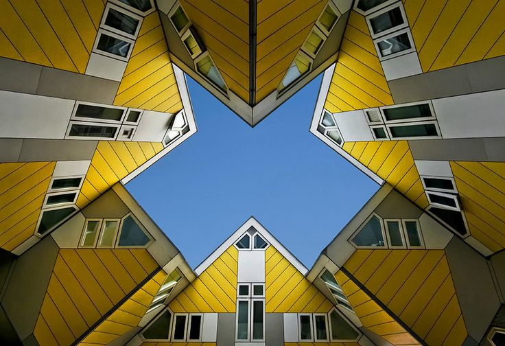 Kubus by Jef Van den Houte, via 500px - The amazing architectural photographic art of Rotterdam.