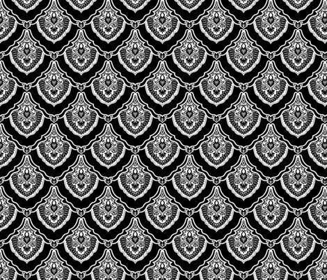 Fancy Pants Dragon Scales fabric by whimzwhirled on Spoonflower - custom fabric