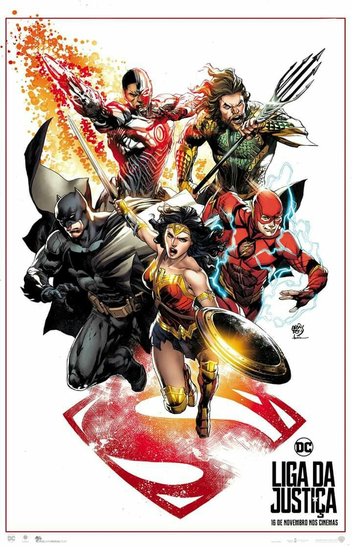 Justice League 2017 Art