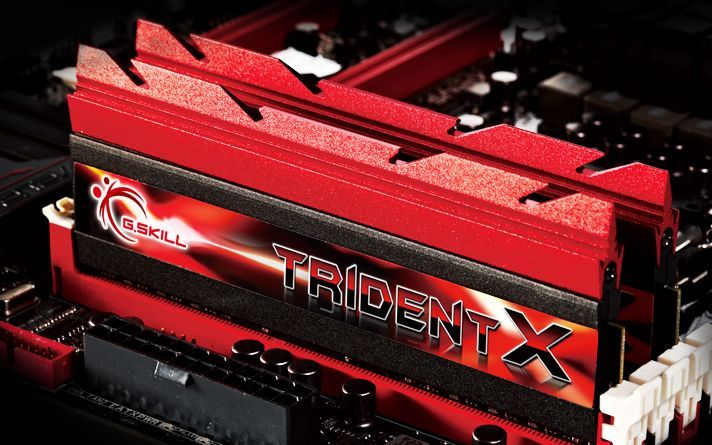 TridentX - F3-2400C10D-16GTX - G.SKILL DDR3 Memory