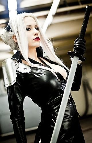 female Sephiroth, pretty awesome