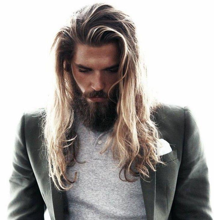 Erkekler İçin Çok Uzun Saç Modeli