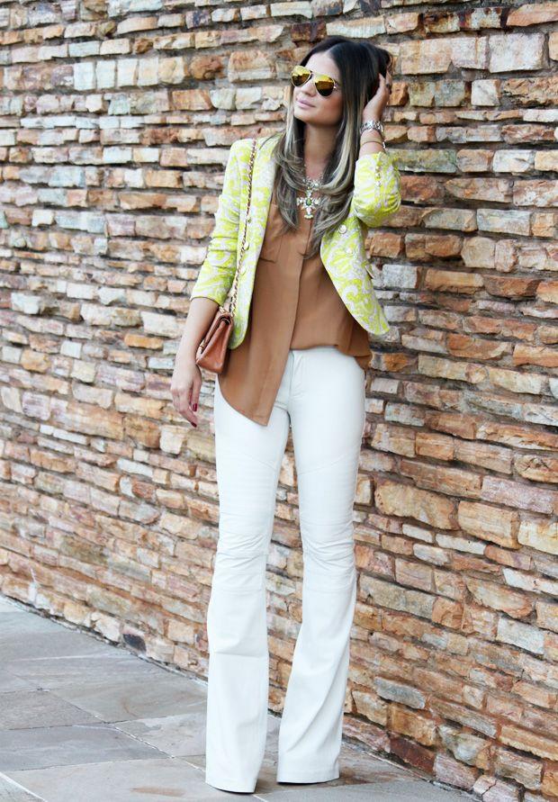 Meu look – White leather! « Blog da Thássia