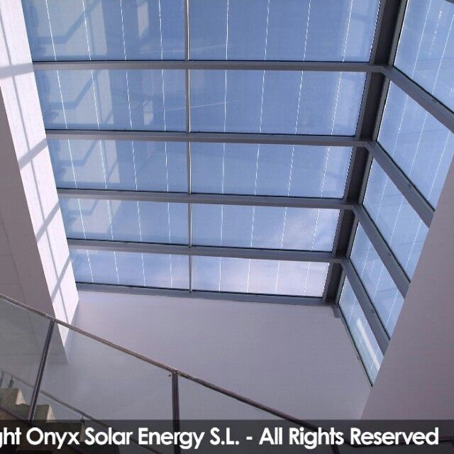 Cubierta de vidrio fotovoltaico www.onyxsolar.com