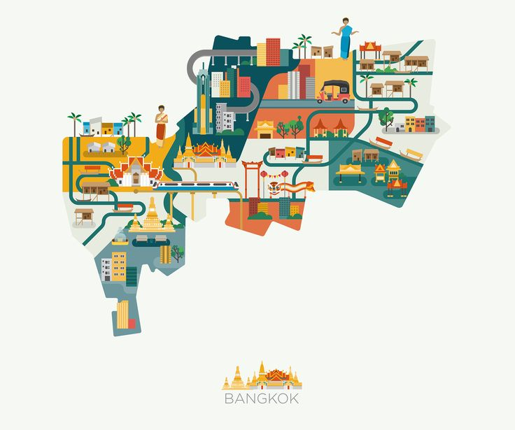 A city guide created for Turkish Airlines highlighting some of the popular tourist spots in Kuala Lumpur.